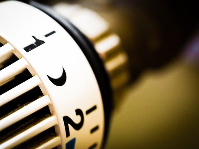 Un radiateur vertical comme chauffage central