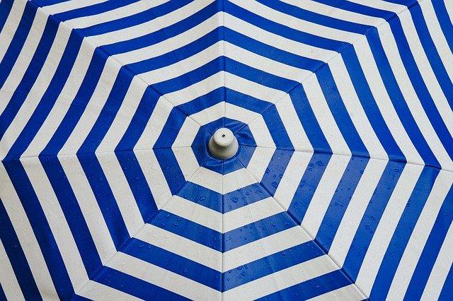 La distribution de parasol de bar publicitaire par une entreprise