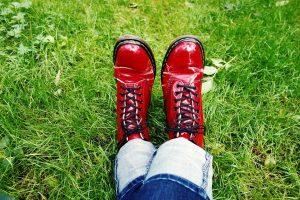 Martens rouge