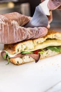 preparer un panini
