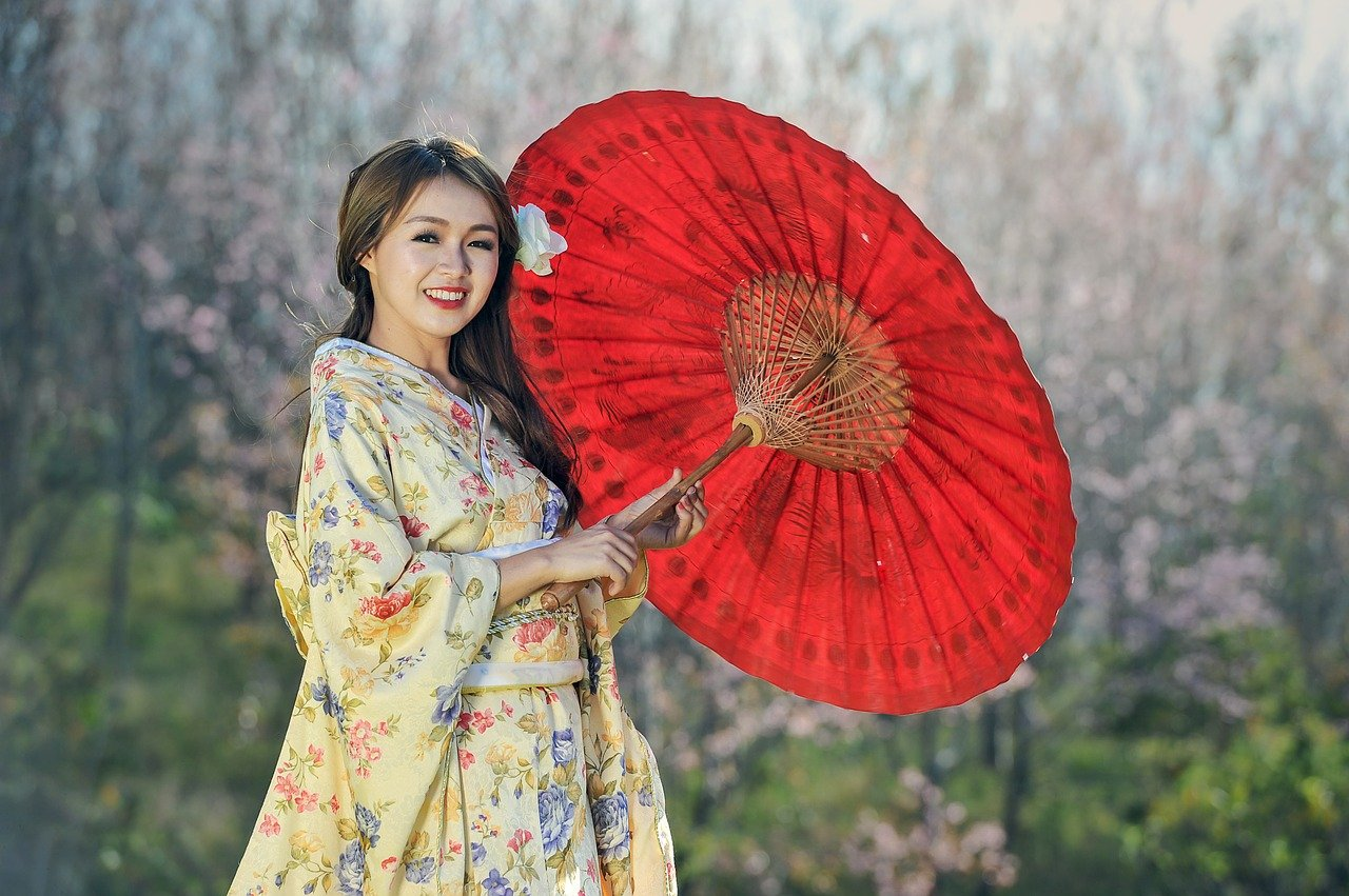 Comment porter kimono